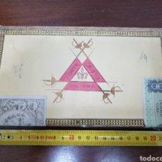 Cajas de Puros: CAJA DE PUROS MONTECRISTO DEL 5 VINTAGE. Lote 138762488