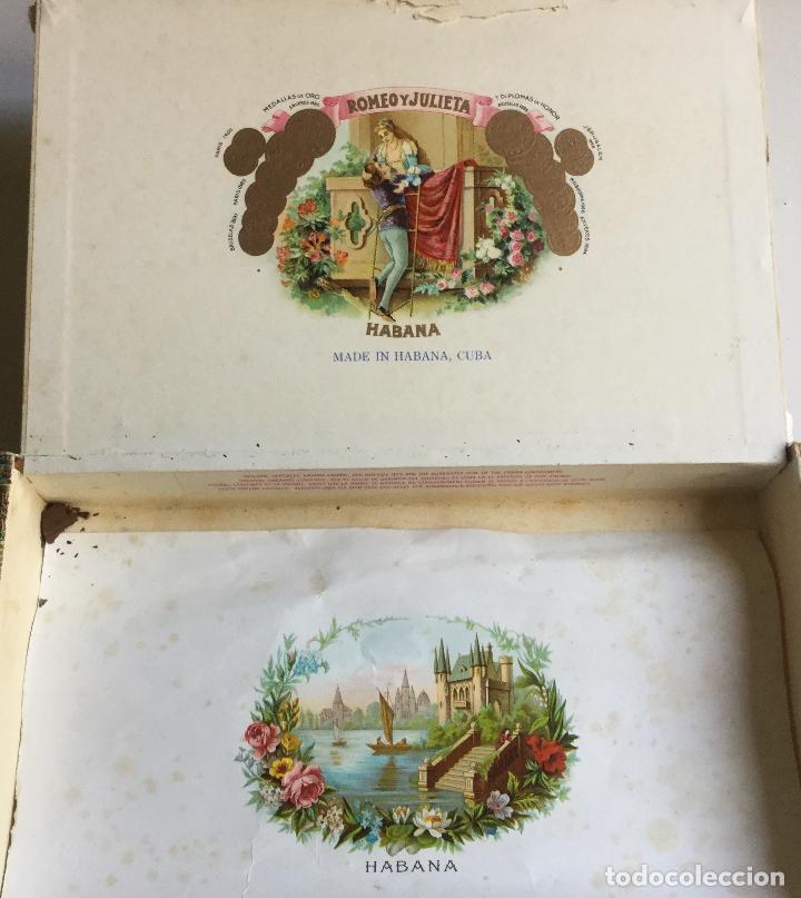 Cajas de Puros: Caja de Puros Romeo y Julieta Habana Cuba - Foto 2 - 138873966
