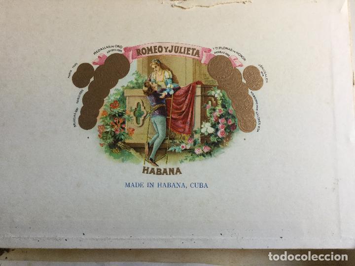 Cajas de Puros: Caja de Puros Romeo y Julieta Habana Cuba - Foto 3 - 138873966