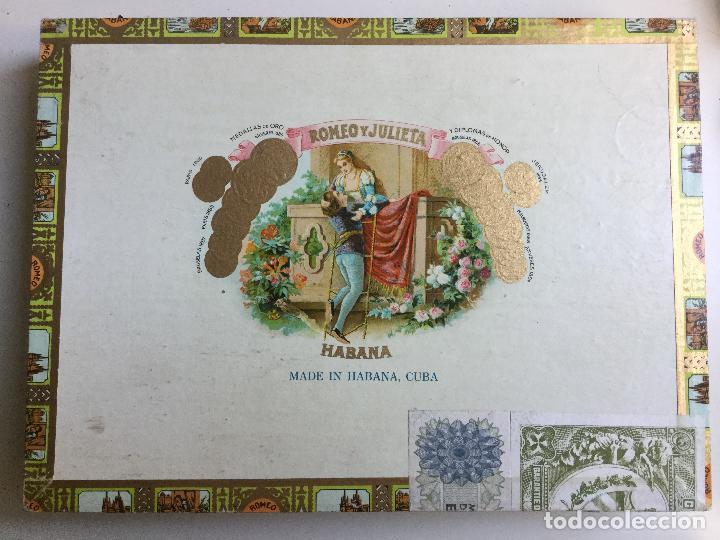 CAJA DE PUROS ROMEO Y JULIETA HABANA CUBA ROMEO Nº 1 (Coleccionismo - Objetos para Fumar - Cajas de Puros)