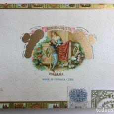 Cajas de Puros: CAJA DE PUROS ROMEO Y JULIETA HABANA CUBA ROMEO Nº 1. Lote 138874134