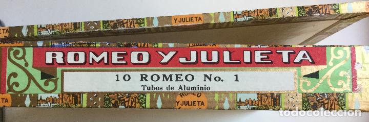 Cajas de Puros: Caja de Puros Romeo y Julieta Habana Cuba Romeo Nº 1 - Foto 4 - 138874134