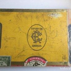 Cajas de Puros: CAJA PUROS CIFUENTES LA HAVANA CUBA. Lote 138875042