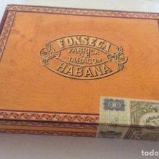 Cajas de Puros: CAJA DE PUROS FONSECA HABANA. Lote 138877830