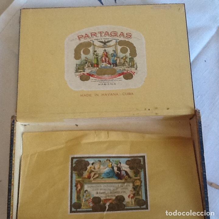 Cajas de Puros: Caja puros habanos vacía Partagas - Foto 2 - 139112746