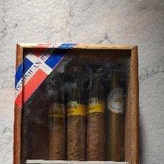 Cajas de Puros: CAJA DE PUROS COHIBA +3 UNIDADES Y OTRO DE REGALO. Lote 139180294