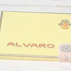 Cajas de Puros: CAJA DE PUROS ALVARO - 10 RANGER - VACIA. Lote 139222658