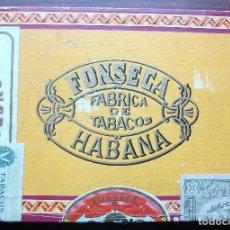 Cajas de Puros: ANTIGUA CAJA DE MADERA DE PUROS HABANOS FONSECA 25 COSACOS VACIA VER FOTOS . Lote 139366694