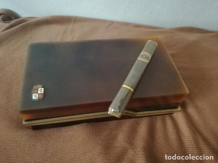 CAJA CIGARRO PURO - PURO BREVAS DE ALVARO (Coleccionismo - Objetos para Fumar - Cajas de Puros)