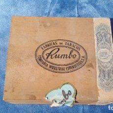 Cajas de Puros: CAJA DE 50 REGALIAS - RUMBO. Lote 140310074