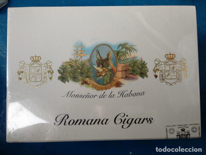 CAJA PRECINTADA MONSEÑOR DE LA HABANA ROMANO CIGARS 20 ESPECIALES C DOMINICAN REPUBLIC (Coleccionismo - Objetos para Fumar - Cajas de Puros)