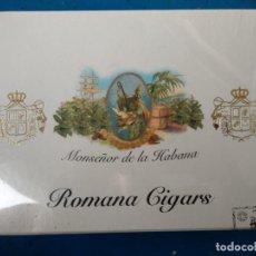 Cajas de Puros: CAJA PRECINTADA MONSEÑOR DE LA HABANA ROMANO CIGARS 20 ESPECIALES C DOMINICAN REPUBLIC. Lote 140485442