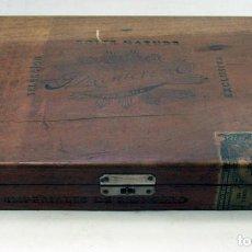 Cajas de Puros: ANTIGUA CAJA DE PUROS MONTERO BOITE NATURE. SELECCIÓN EXCLUSIVA. HABANA. CUBA. Lote 141186698