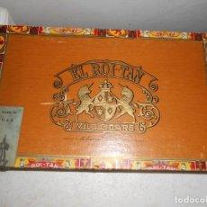 Cajas de Puros: EL ROI-TAN -MILD CIGARS -MADE IN USA. Lote 141203274