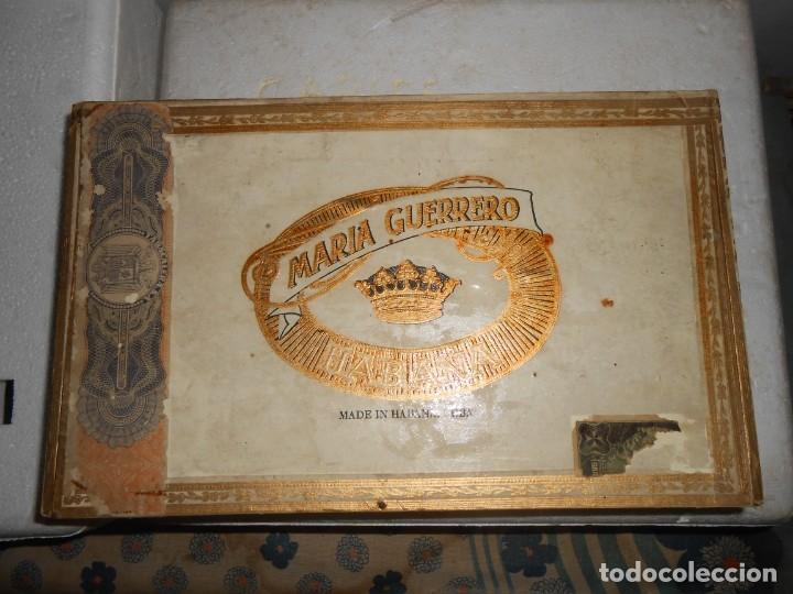 CAJA MARIA GUERRERO -20 CEDROS DE LUXE Nº 2 -MADE IN HABANA (Coleccionismo - Objetos para Fumar - Cajas de Puros)