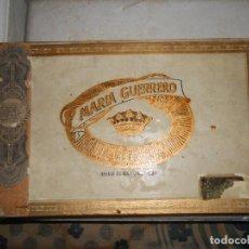 Cajas de Puros: CAJA MARIA GUERRERO -20 CEDROS DE LUXE Nº 2 -MADE IN HABANA. Lote 141203674