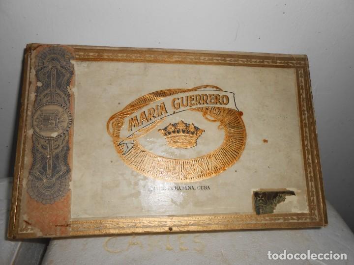 Cajas de Puros: Caja MARIA GUERRERO -20 Cedros de Luxe Nº 2 -Made in Habana - Foto 2 - 141203674