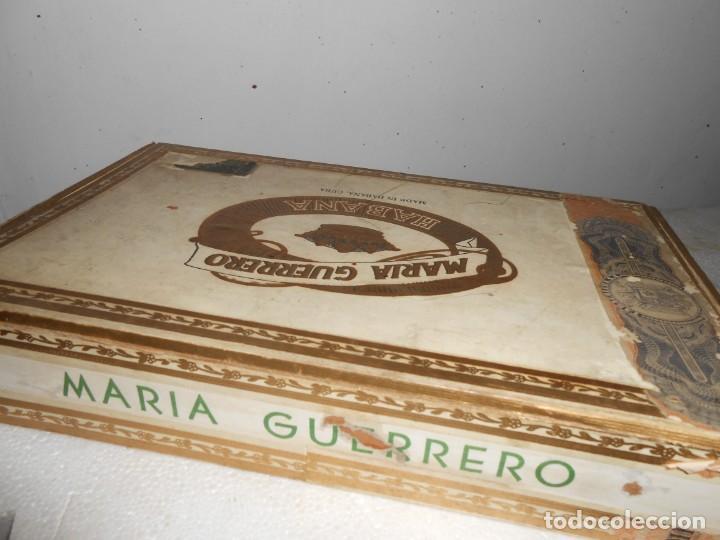 Cajas de Puros: Caja MARIA GUERRERO -20 Cedros de Luxe Nº 2 -Made in Habana - Foto 4 - 141203674