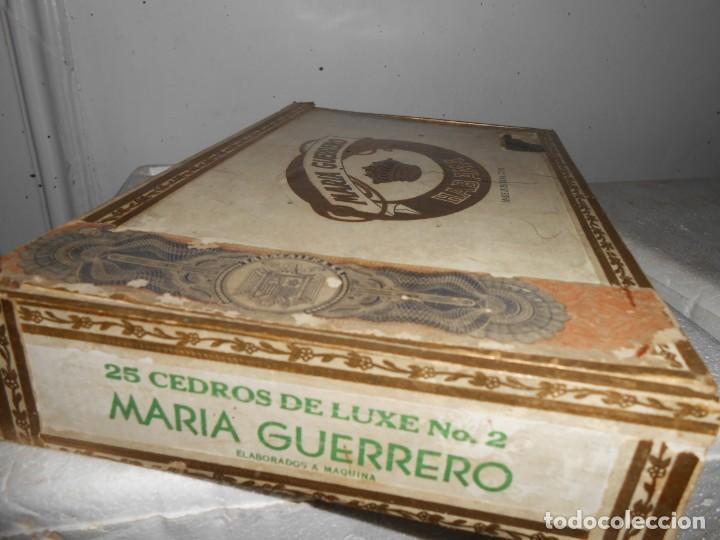 Cajas de Puros: Caja MARIA GUERRERO -20 Cedros de Luxe Nº 2 -Made in Habana - Foto 5 - 141203674