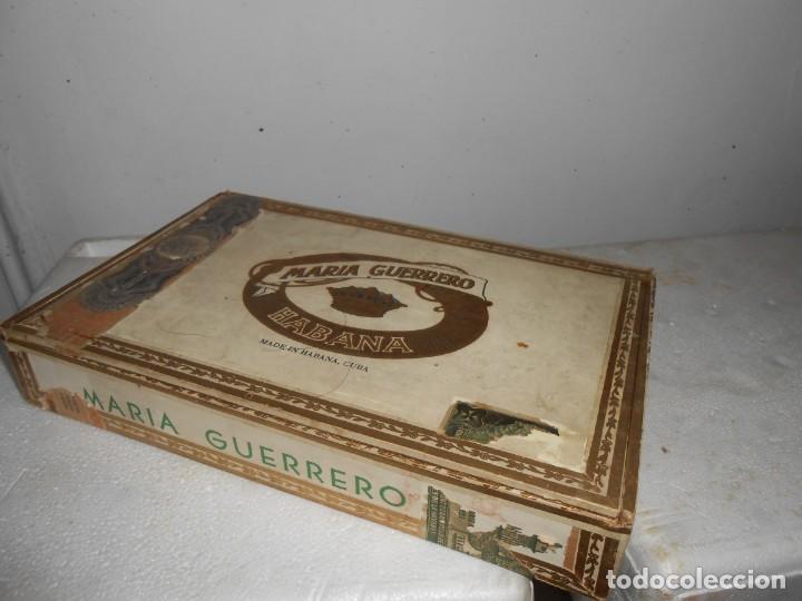 Cajas de Puros: Caja MARIA GUERRERO -20 Cedros de Luxe Nº 2 -Made in Habana - Foto 6 - 141203674
