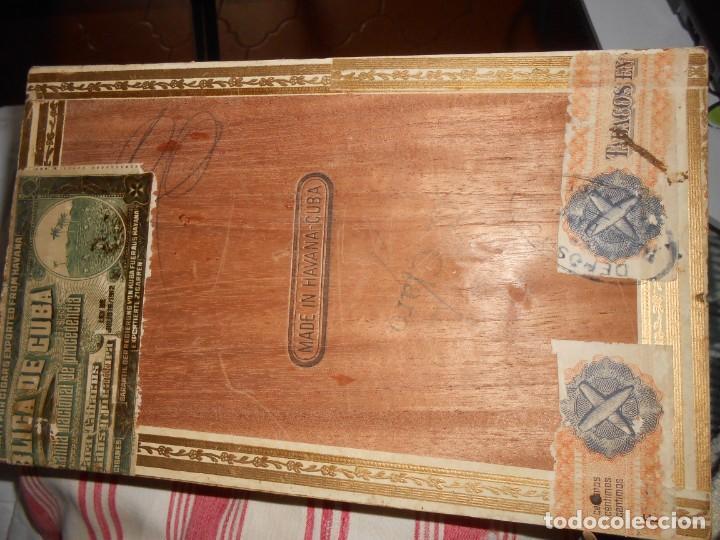 Cajas de Puros: Caja MARIA GUERRERO -20 Cedros de Luxe Nº 2 -Made in Habana - Foto 7 - 141203674