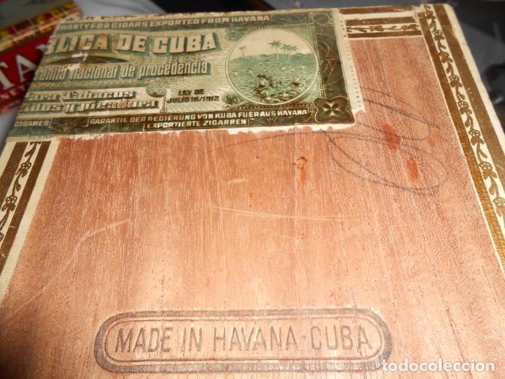 Cajas de Puros: Caja MARIA GUERRERO -20 Cedros de Luxe Nº 2 -Made in Habana - Foto 8 - 141203674