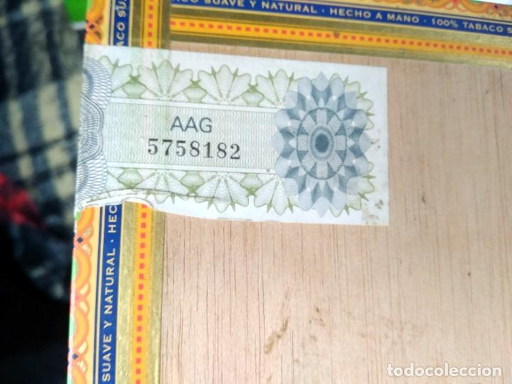 Cajas de Puros: CAJA PUROS VEGAFINA 25 CORONAS - SIN ABRIR - Foto 4 - 141230358