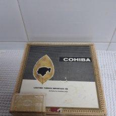 Cajas de Puros: CAJA COHIBA REPUBLICA DOMINICANA. Lote 142084766