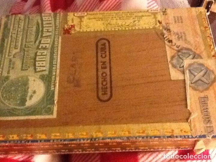 Cajas de Puros: Caja puros habanos vacía Partagas - Foto 4 - 139112746