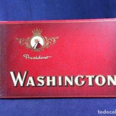 Cajas de Puros: CAJA DE PUROS WASHINGTON PRESIDENT HOLLAND HOLANDA VITOLAS PRESIDENTES AMERICANOS 10 PUROS 2X12X20CM. Lote 142496986