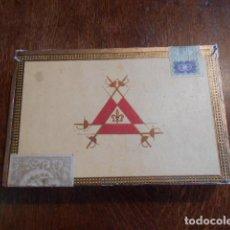 Cajas de Puros: CAJA DE PUROS VACIA, MONTECRISTO Nº 4 , HABANA CUBA. Lote 142529414
