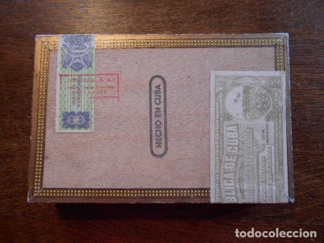 Cajas de Puros: CAJA DE PUROS VACIA, MONTECRISTO Nº 4 , HABANA CUBA - Foto 6 - 142529414