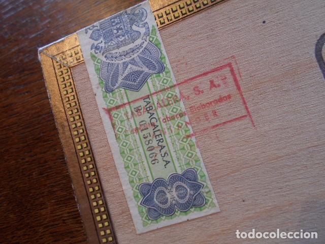 Cajas de Puros: CAJA DE PUROS VACIA, MONTECRISTO Nº 4 , HABANA CUBA - Foto 7 - 142529414
