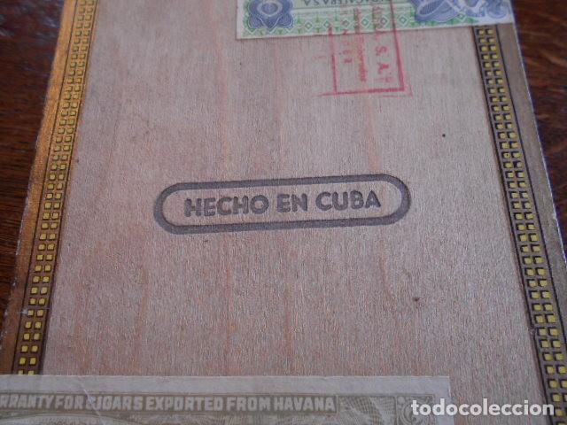 Cajas de Puros: CAJA DE PUROS VACIA, MONTECRISTO Nº 4 , HABANA CUBA - Foto 9 - 142529414