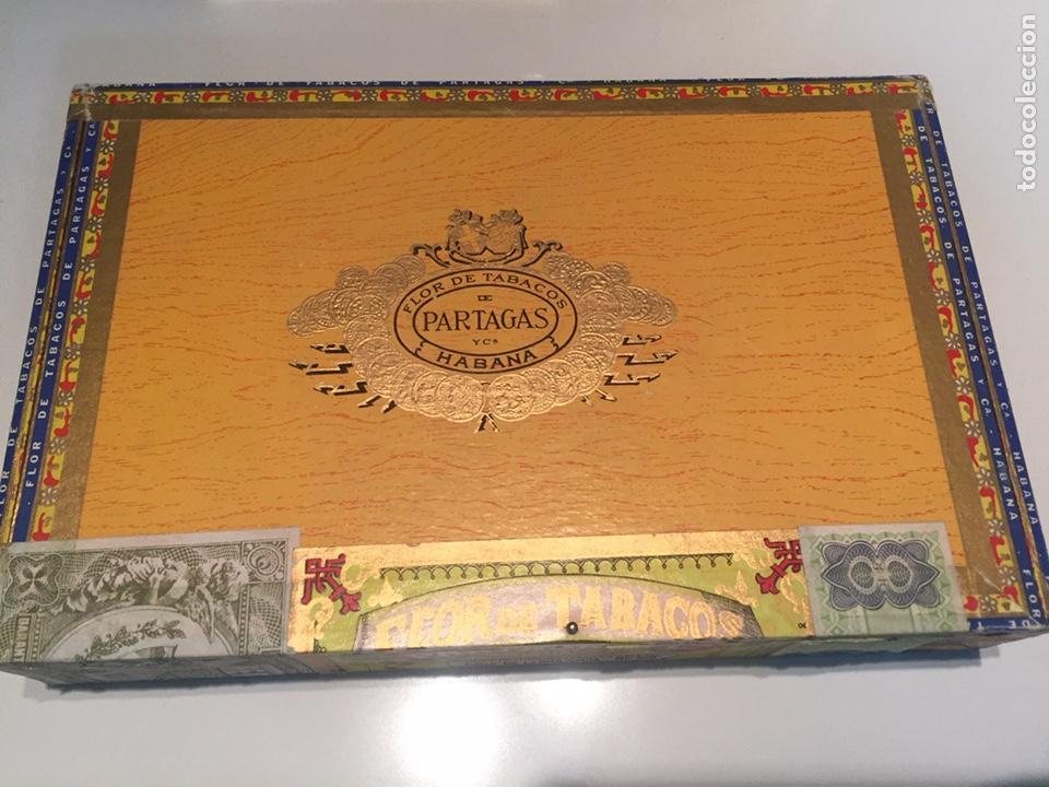 Cajas de Puros: 2 cajas de puros partagas y h.upmann - Foto 2 - 142832245