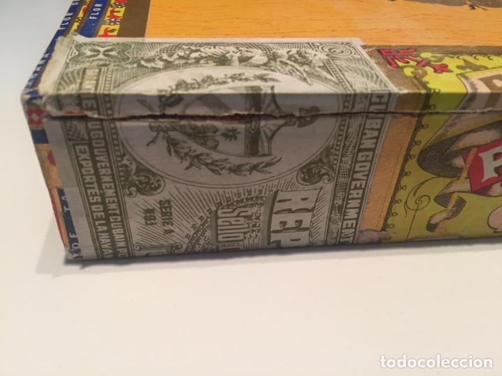 Cajas de Puros: 2 cajas de puros partagas y h.upmann - Foto 3 - 142832245