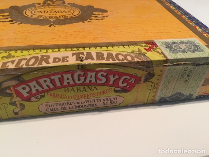 Cajas de Puros: 2 cajas de puros partagas y h.upmann - Foto 4 - 142832245