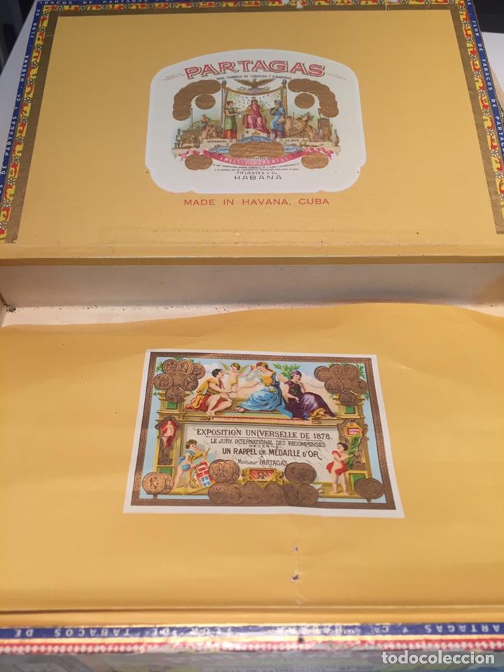 Cajas de Puros: 2 cajas de puros partagas y h.upmann - Foto 5 - 142832245