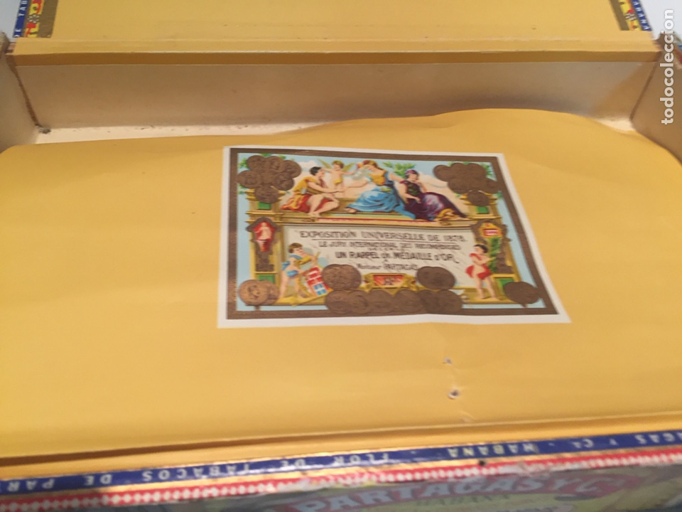 Cajas de Puros: 2 cajas de puros partagas y h.upmann - Foto 7 - 142832245
