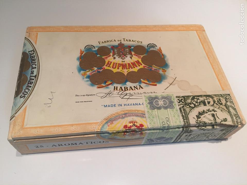 Cajas de Puros: 2 cajas de puros partagas y h.upmann - Foto 8 - 142832245