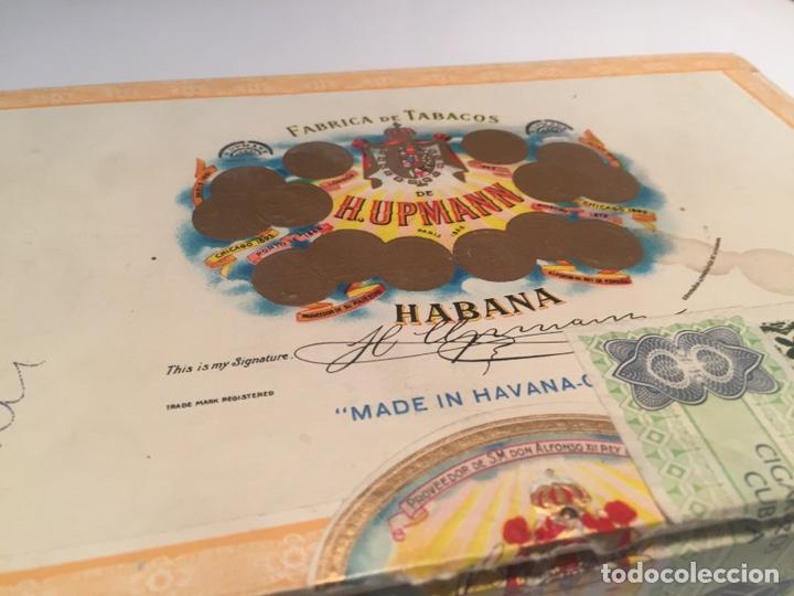 Cajas de Puros: 2 cajas de puros partagas y h.upmann - Foto 10 - 142832245