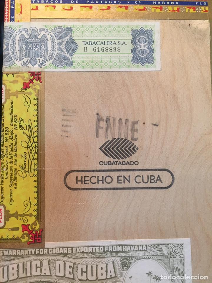 Cajas de Puros: 2 cajas de puros partagas y h.upmann - Foto 14 - 142832245