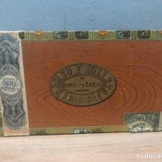 Cajas de Puros: CAJA DE PUROS HABANOS ROMEO Y JULIETA. Lote 142862904