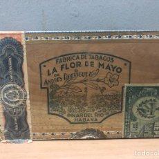 Cajas de Puros: CAJA DE PUROS HABANOS FLOR DE MAYO. Lote 142863296