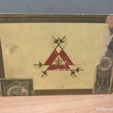 Cajas de Puros: CAJA DE PUROS HABANOS MONTECRISTO. Lote 142863536