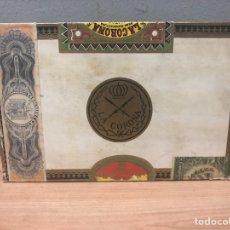Cajas de Puros: CAJA DE PUROS HABANOS LA CORONA. Lote 142863784