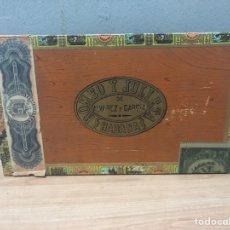 Cajas de Puros: CAJA DE PUROS HABANOS ROMEO Y JULIETA. Lote 142864006