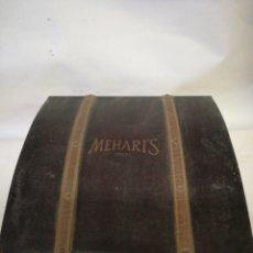 Cajas de Puros: CAJA DE MADERA MALETIN MEHARI'S CIGARS. Lote 143043097
