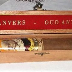 Cajas de Puros: ANTIGUO PURO VIEIL ANVERS EN CAJA ORIGINAL. Lote 143318978