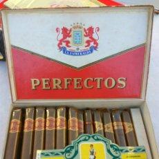 Cajas de Puros: CAJA PUROS LA ESMERALDA PERFECTOS 18 UNID.. Lote 146909628
